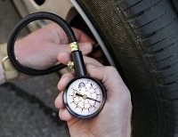 Proper tire pressure improves your gas mileage!